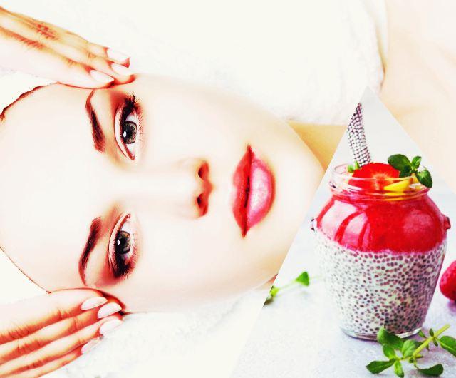 Hranjiva maska za lice od chia sjemenki