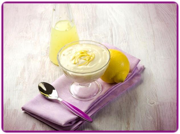 Niskokalorični mousse od limuna