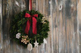Vijenac za vrata kao najljepša božićna želja