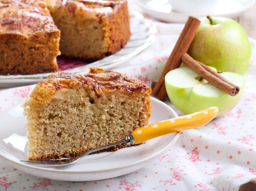 Kolač s jabukama, bez brašna
